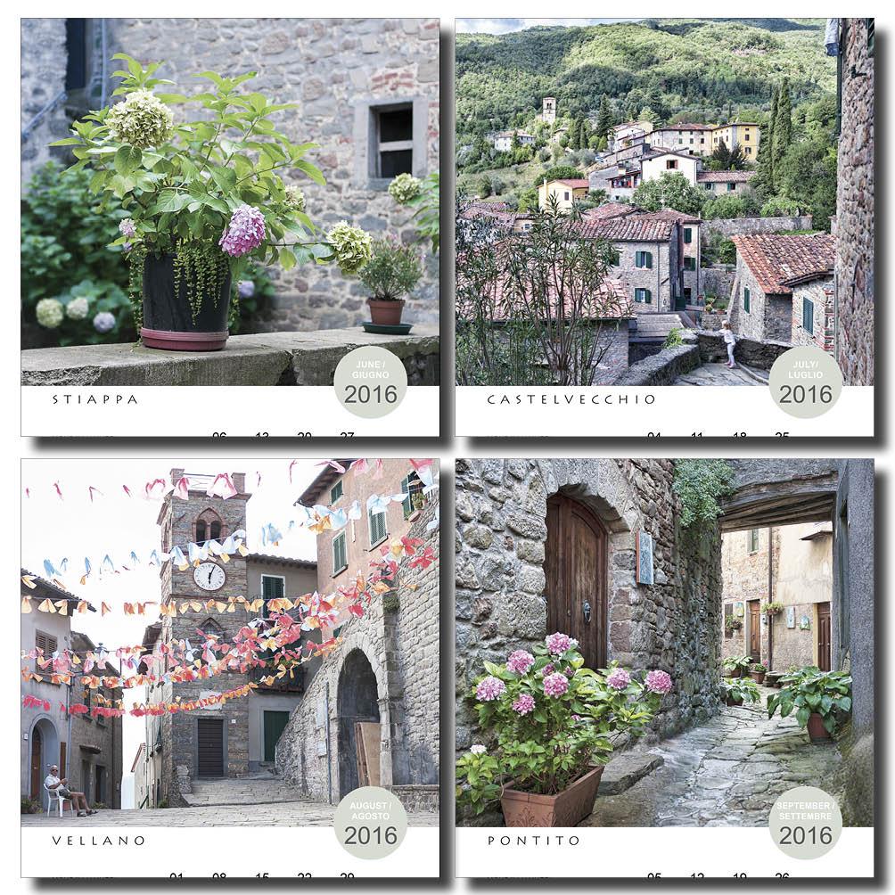 Tuscany Calendar 2016