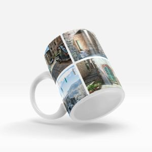 left handle 11oz mug