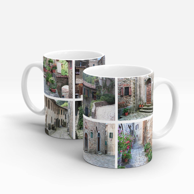 Left and right handle mug