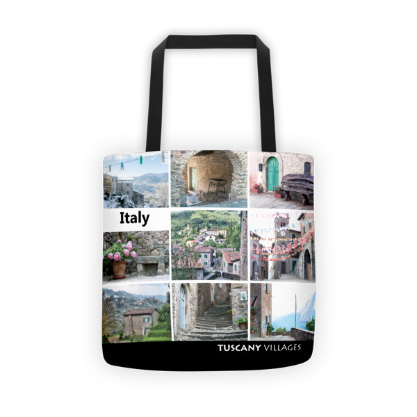 Tuscany Villages - tote bag