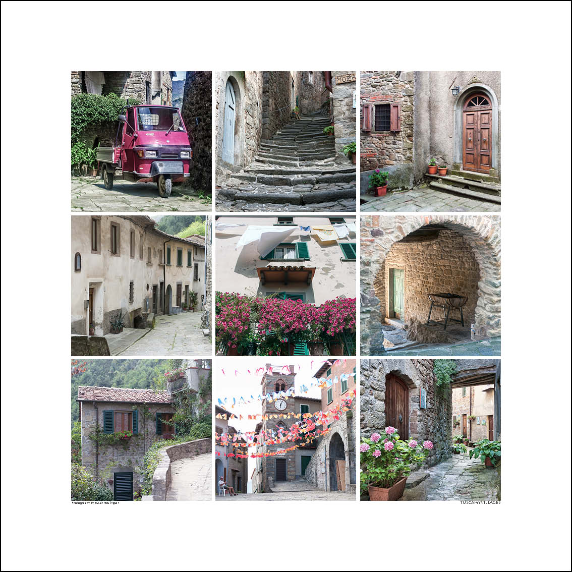 Fine Art Print - Tuscany Villages