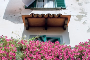 Balcony Flowers and Laundry book front cover