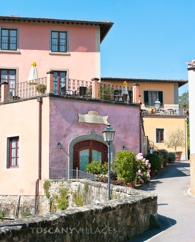 Grieve-in-Chianti, houses