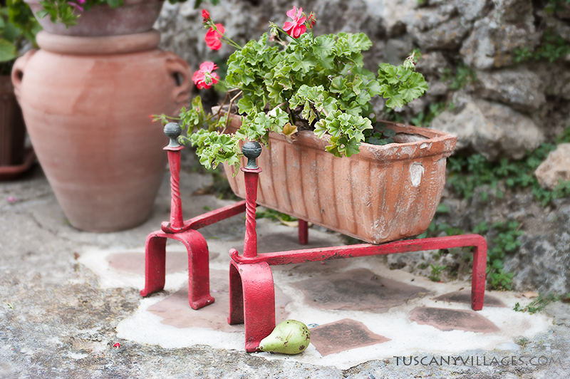 tuscany-villages-Andirons-and-plant
