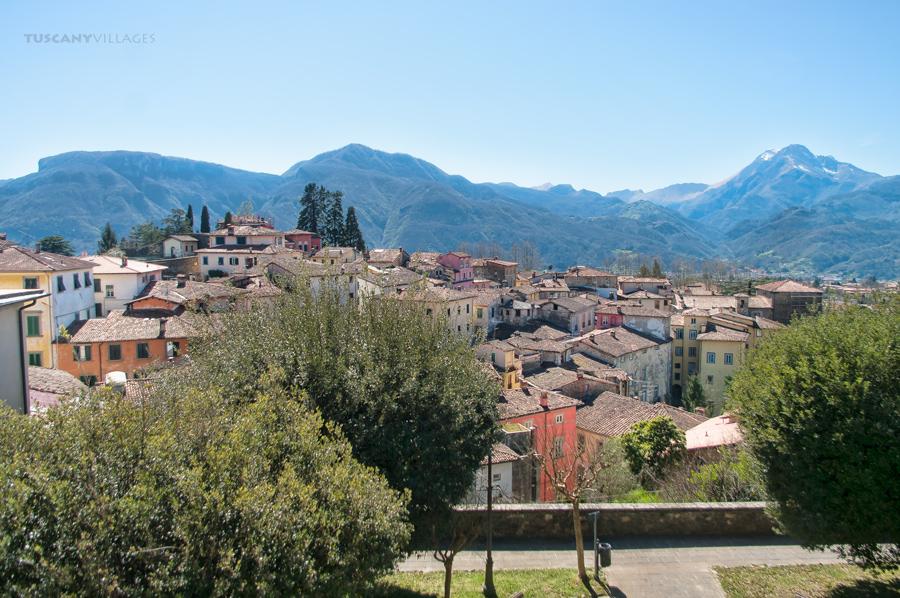 Barga town, Tuscany, italy