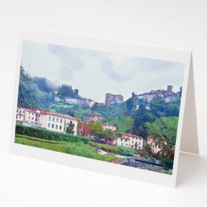 Pietrabuona Village Greeting Card