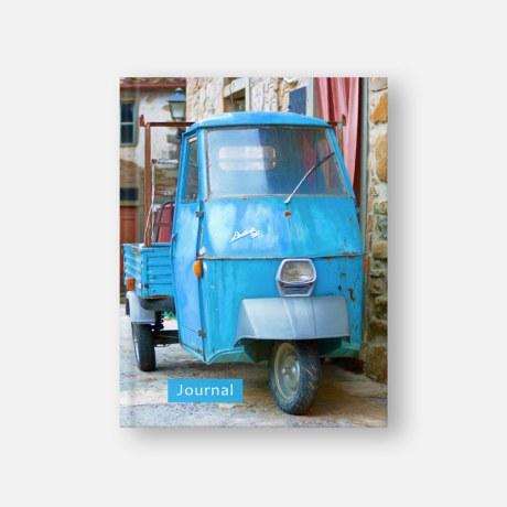 An Ape Street - Aramo hardback tuscany villages journal