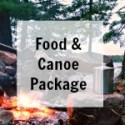 BWCA Camping Food and Canoe Rental Package