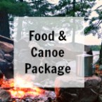 BWCA Camping Food and Canoe Rental Package