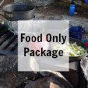 Boundary Waters Camping Food Only Package