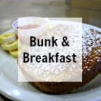 Boundary Waters bunkhouse and hot breakfast