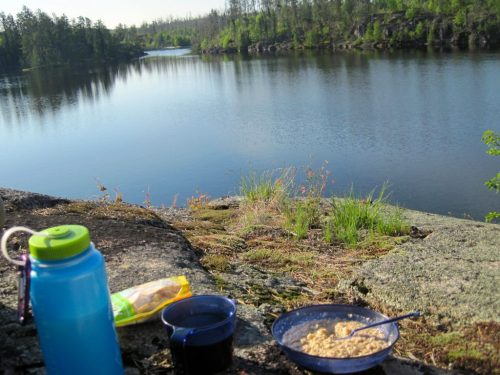 BWCA Camp Food Breakfast