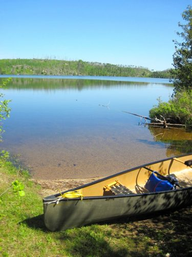 Clove Lake is a popular lake for anglers in the BWCA, accessed from Larch Creek or Magnetic Lake on the Granite River