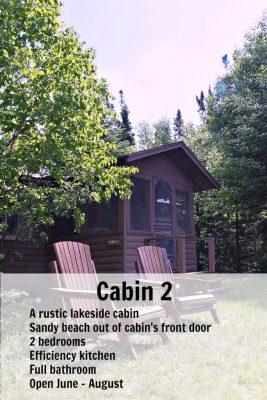 Cabin 2 Pin