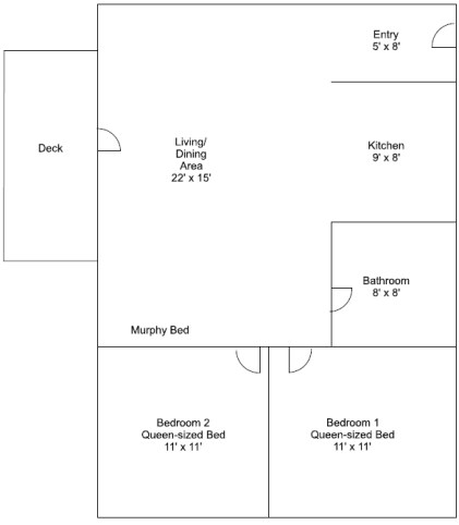 Cabin 3 Floorplan
