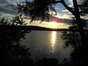 Sunset over Paulsen