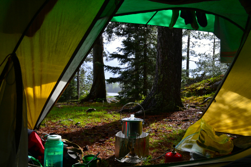 Quetico Tent View