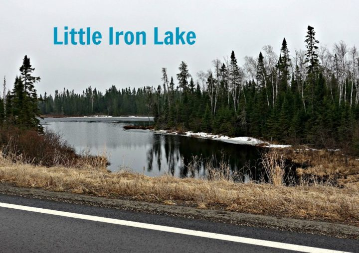 Little Iron Lake April 15 2017