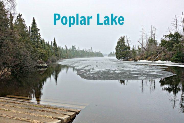 Poplar Lake April 15 2017