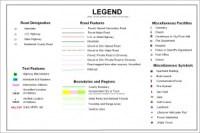 Map Legend - Tuscaloosa County Alabama
