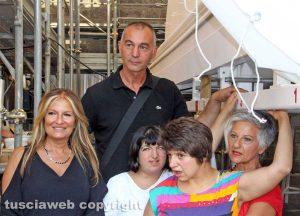 Tiziana Piccioni, Raffaele Ascenzi e Graziella Iacoponi con Camilla e Silvia
