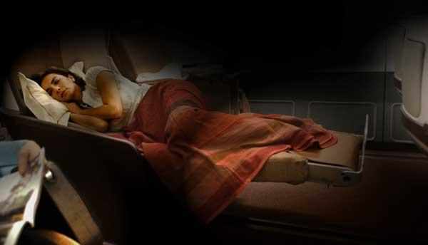 Iberia remodela la Business Plus para ofrecer butacas-cama totalmente horizontales
