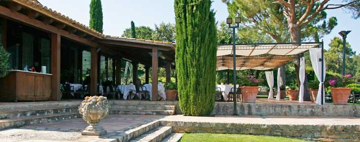 Terraza del Restaurante de Mas de Torrent