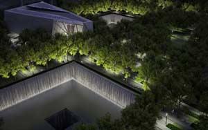 Maqueta del Memorial 9/11