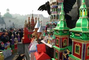 Mercado de Navidad de Cracovia, en Polonia