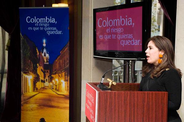 Vicepresidenta de Turismo de Proexport Colombia, Nubia Stella Martínez