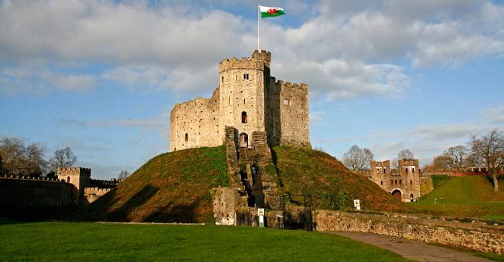 Torre normanda del Castillo de Cardiff