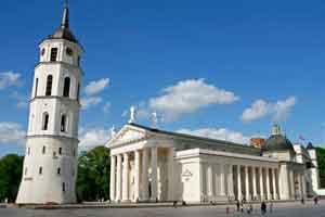Plaza Catedral de Vilnius