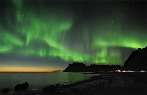 Aurora Boreal en Noruega. © Bjørn Jørgensen Visitnorwaycom