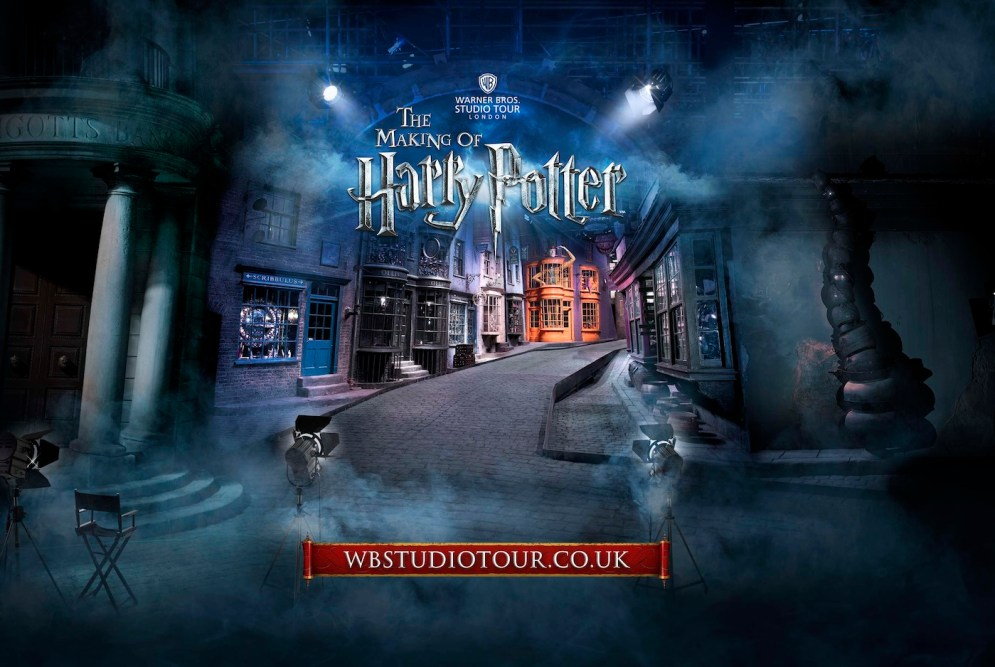 Warner Bros. Studio Tour London dedicado al mundo de las películas de Harry Potter