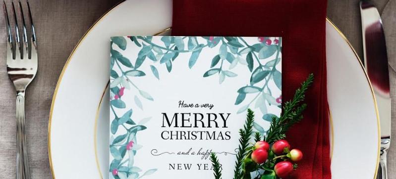 cuidado cenas empresa navidad