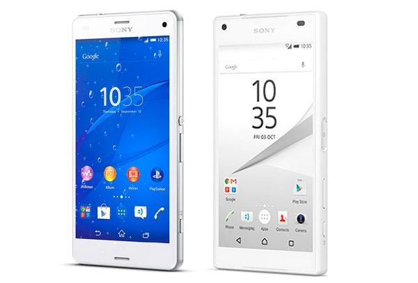 Sony Xperia® Z3 Compact vs <stro data-recalc-dims=
