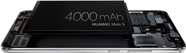 huawei mate 9 bateria