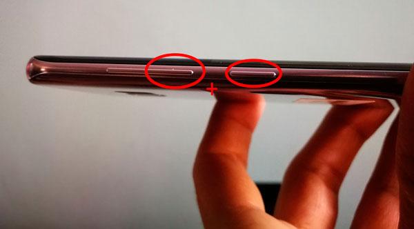 forzar reinicio Samsung Galaxy S8 y S8+ botones