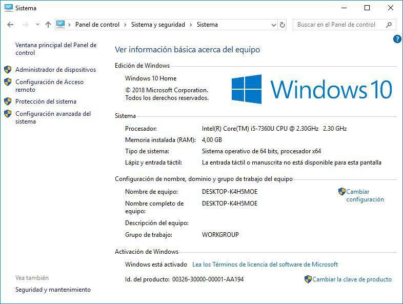 windows 10 activacion