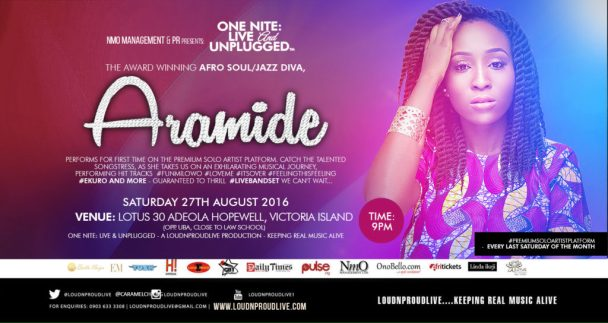 ONE NITE LIVE & UNPLUGGED with ARAMIDE