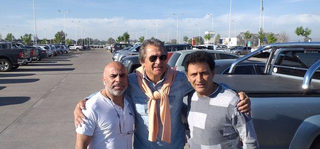 Charlas y clínicas de fútbol de Serna, Astrada y Fillol en una jornada deportiva en Mendoza