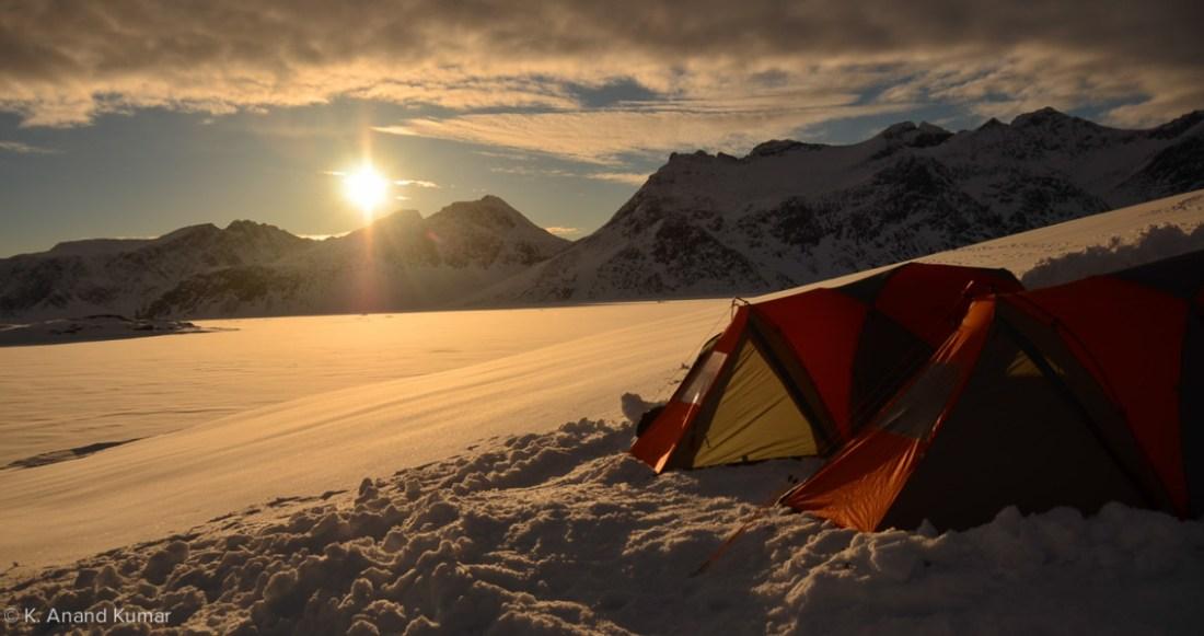 Overnighting - Greenland Dog Sledding - Tusker Trail - 01