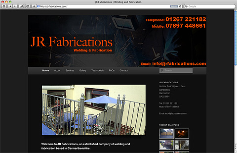 JR Fabrications welding and fabrication in Carmarthen west Wales