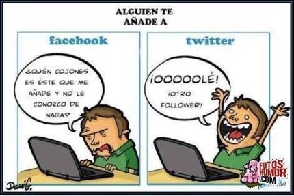 chiste redes sociales