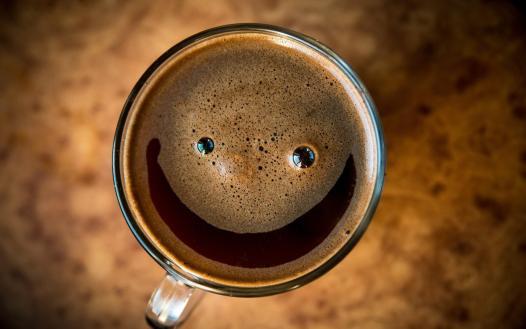 cafe sonriente