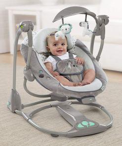 Hamaca bebé con niño