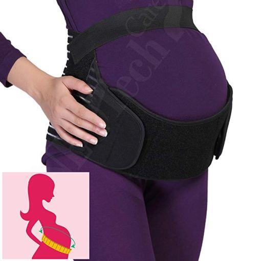 cinturón maternidad negro