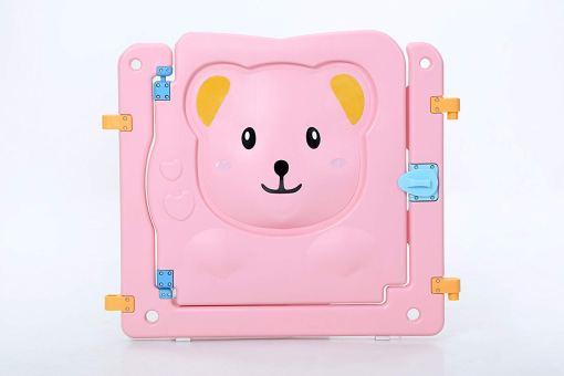 pieza rosa