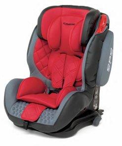 silla bebé roja