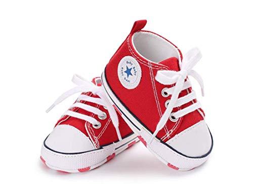 zapatillas rojas bebé